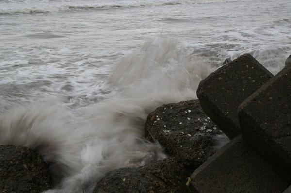 Angry wave